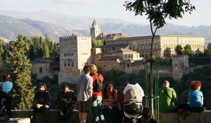 alhambra desde el mirador de San Nicolas
